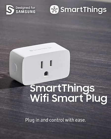 Enchufe inteligente WiFi Samsung SmartThings