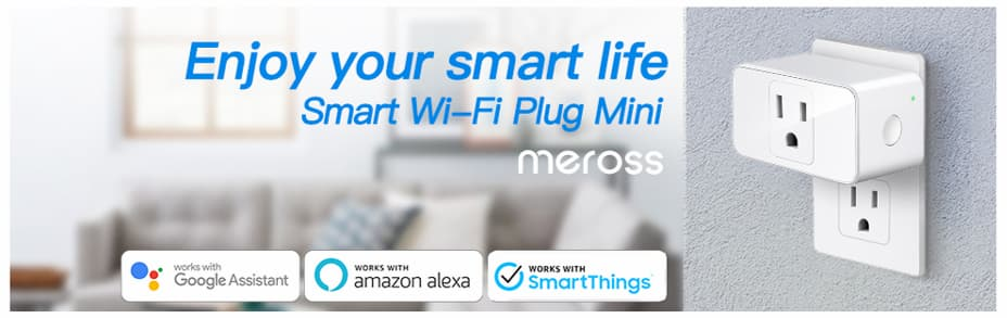 Mini enchufe inteligente WiFi Meross
