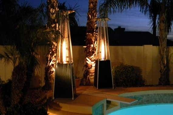 Torres de calefacción de propano estilo pirámide