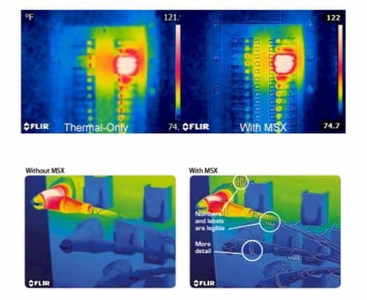Qué es MSX Flir E8-XT Cámara infrarroja