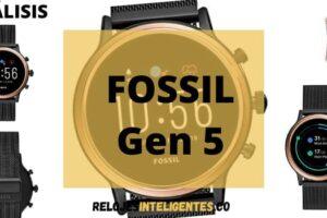 Reloj inteligente Fossil Gen 5 el mejor para Android