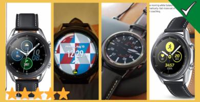 Resena del Samsung Galaxy Watch 3 un reloj inteligente Espectacular con un defecto