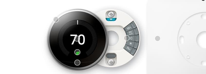 Termostato Nest Learning 3ra generación